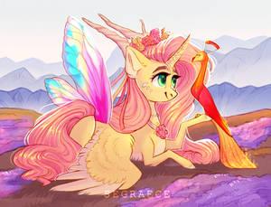 Princess Fluttershy (+SPEEDPAINT in description)