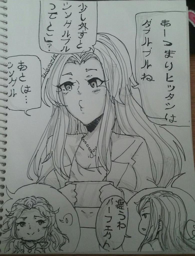 Idol master by Redscarletheart