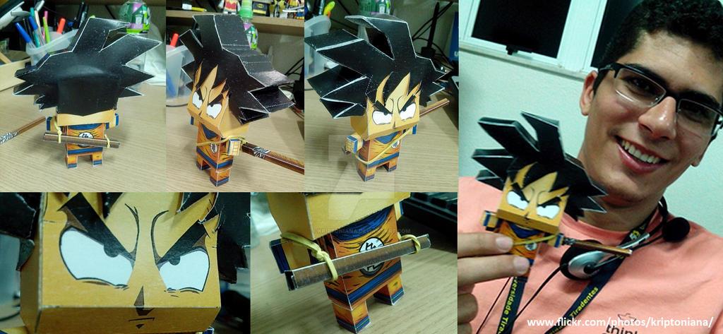 Goku BeanHead by kriptoniana