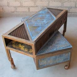 overhang table