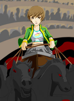 Persona 4 fanart - Chie