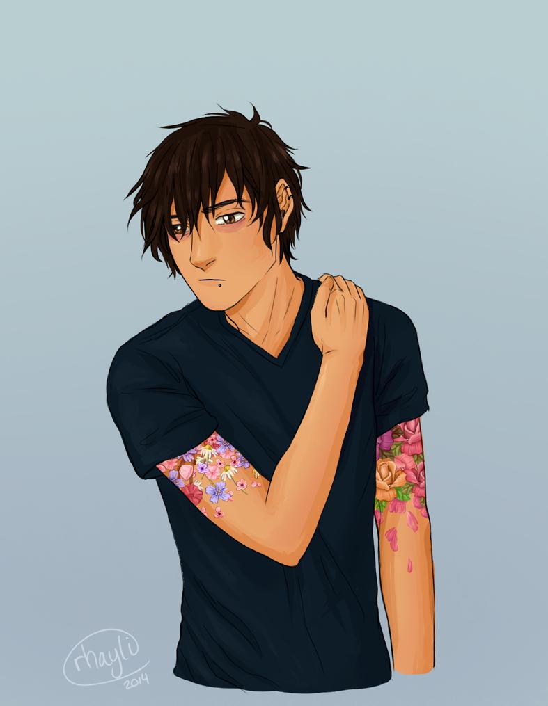 Flower Tattoos by Rhaylee