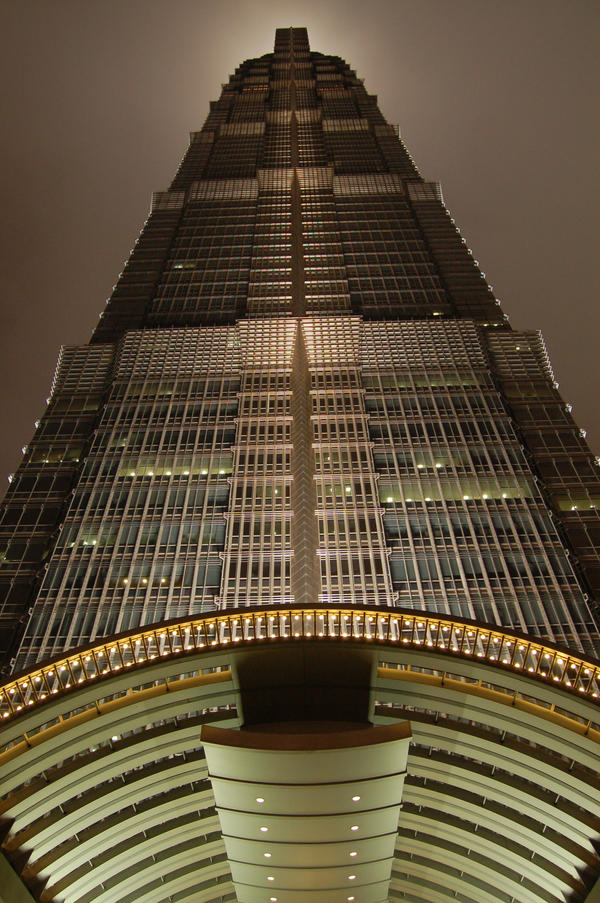 Jin Mao Tower by tr3ocrue