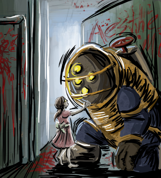 Bioshock - Dependence by ImaginaryGoddess