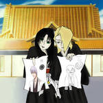 Jusace and Izuru by darkcandyxx
