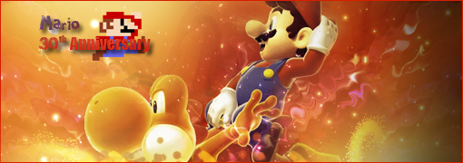 GFX Mario, 30th Anniversary by Aurawesome