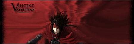 GFX : Vincent Valentine by Aurawesome
