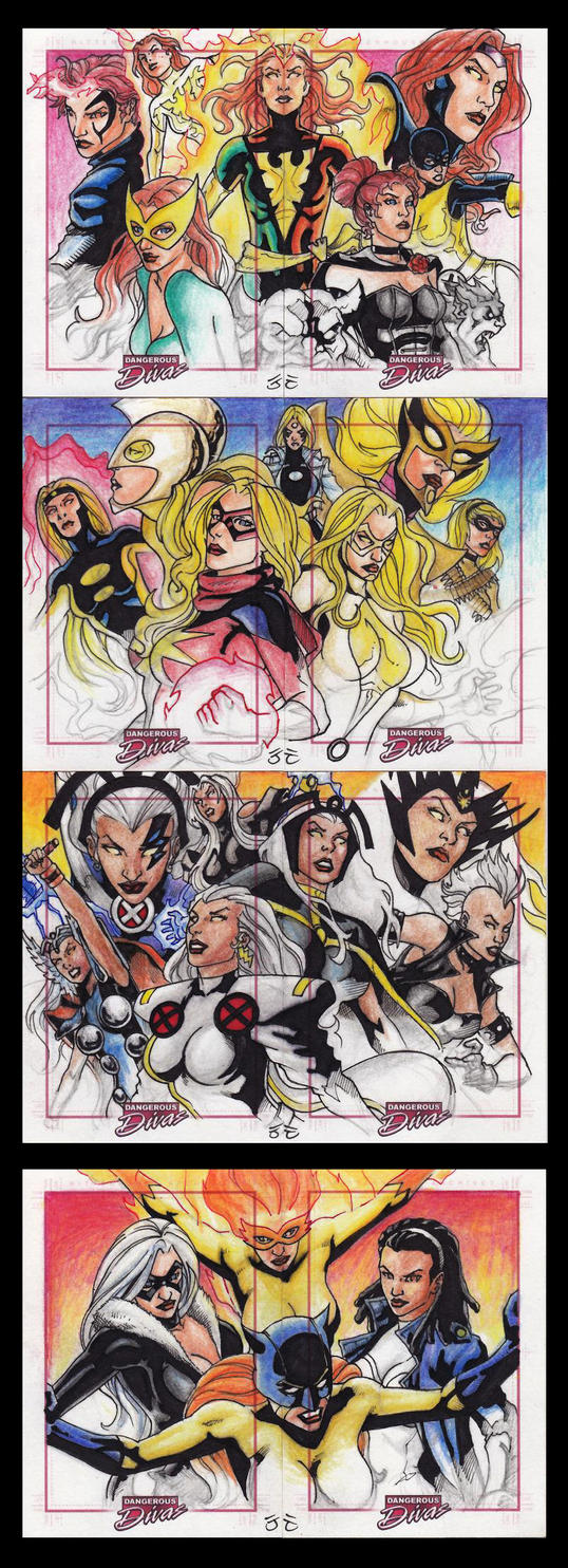 MDD Sketch cards 2pcs puzzle by JesterretseJ on DeviantArt