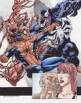 Spider man Vs Venom Carnage  C
