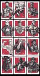 Marvel Sketch cards 2012