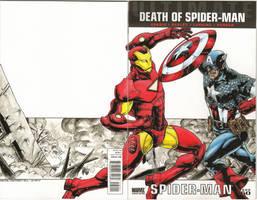 Captain America Vs Iron Man B by JesterretseJ