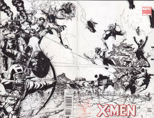 WW 1 Avengers vs X-men