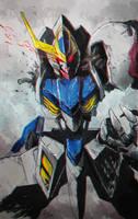 Gundam Barbatos Lupus by jazzjack-KHT