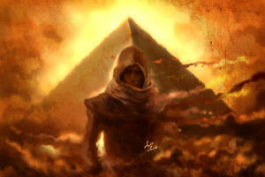 assassin's creed origins Bayek of Siwa by jazzjack-KHT