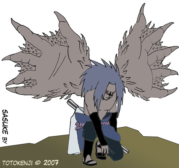 Sasuke level 2 in color by totokenji on DeviantArt