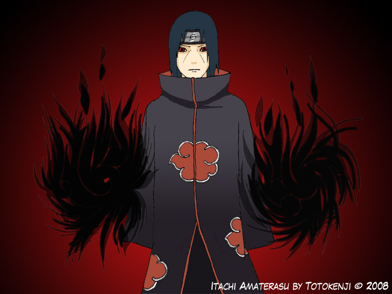 Itachi Amaterasu 002 By Totokenji On DeviantArt