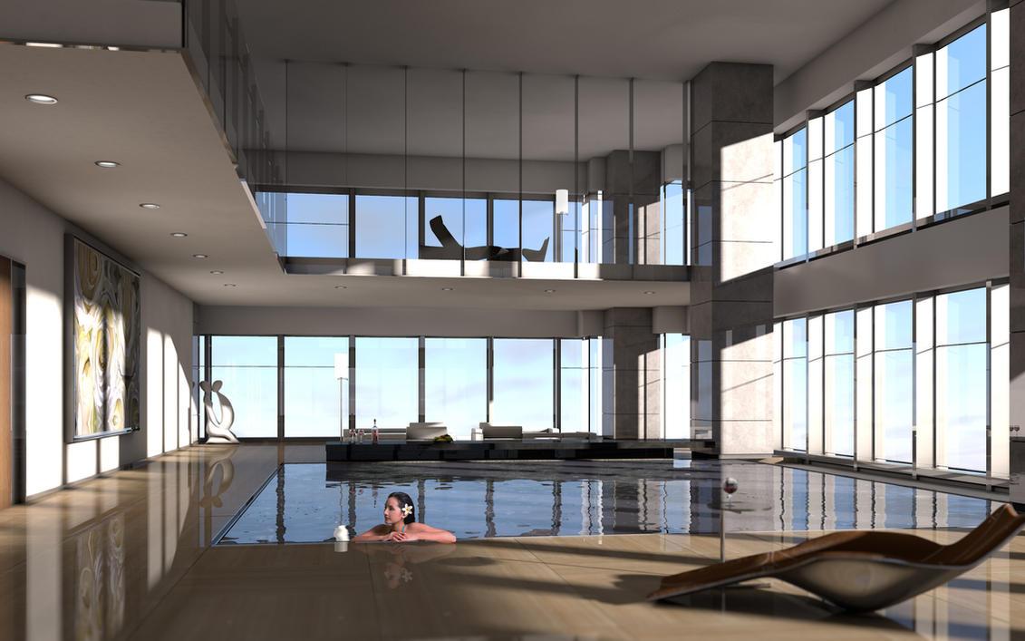 Hangzhou tower interior render 1 by wittermark on deviantart for Interior design rendered images