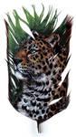 Jaguar on Feather