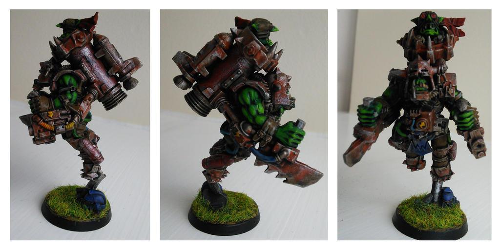 Ork Launcher by WoodlandHermit