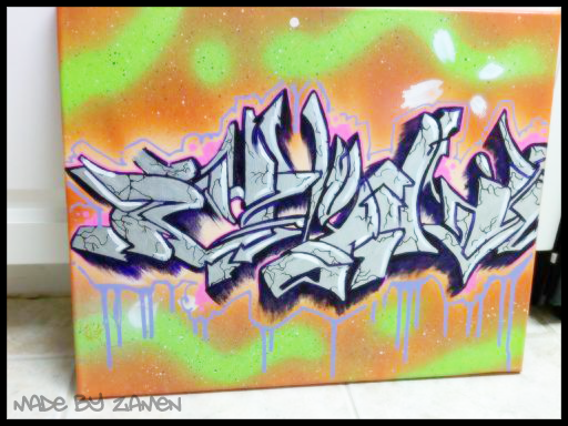 graffiti on canvas f5604b06ca35d