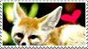 Fennec Fox Stamp