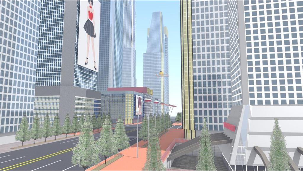 Futuristic City 2 by ROBOTCOMPANY