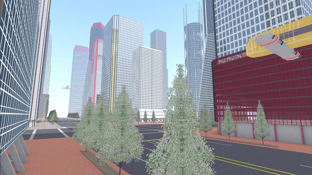 Futuristic City 3 by ROBOTCOMPANY