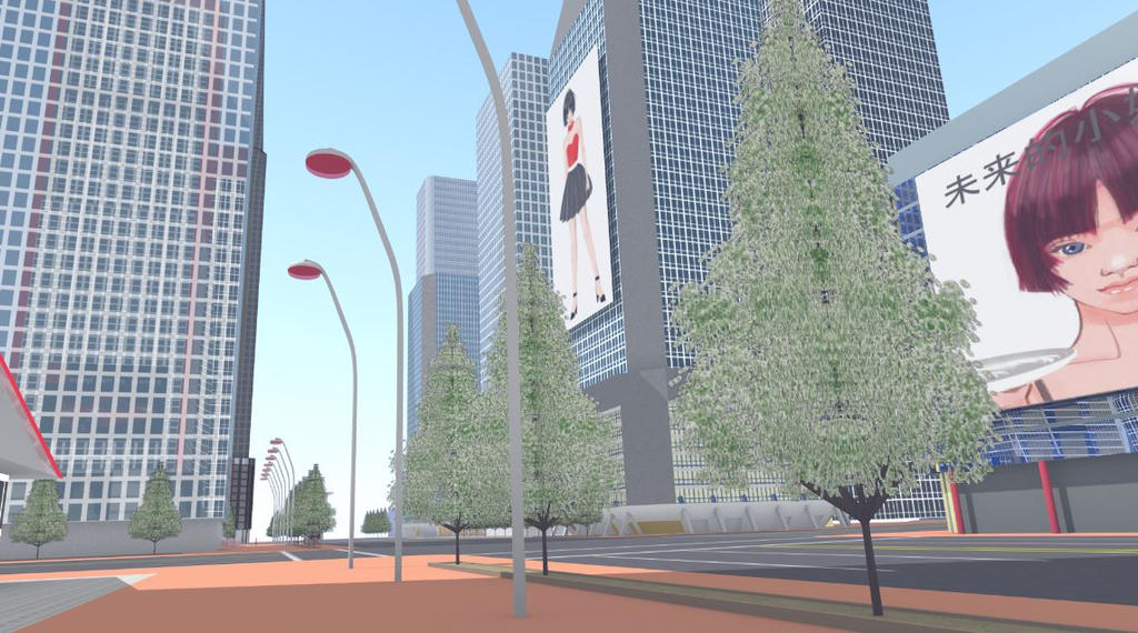 Futuristic City 4 by ROBOTCOMPANY