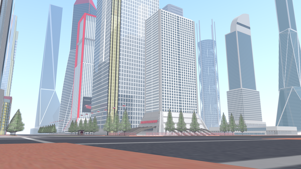 Futuristic City 5 by ROBOTCOMPANY