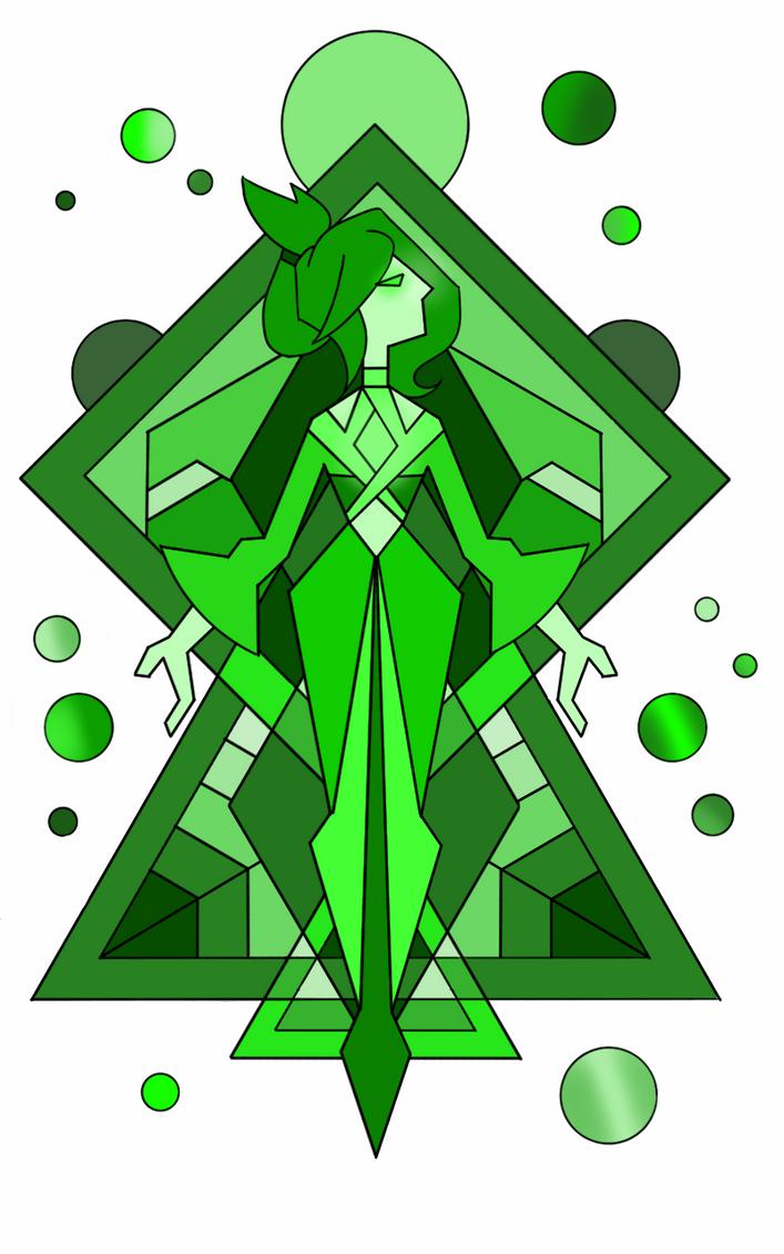 Green diamond mural by flickeringfilms on deviantart for Yellow diamond mural