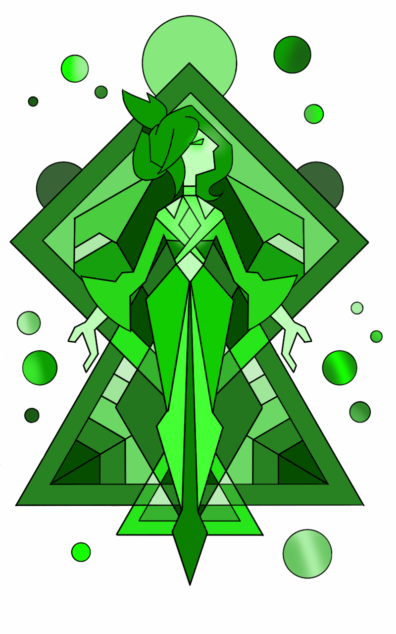Green diamond mural by flickeringfilms on deviantart for Yellow diamond mural