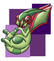 Shy Flygon by do-it-yourself