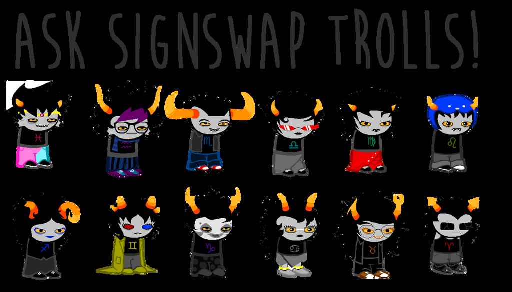 Ask The Signswap Trolls OPEN By AskTheSignswapTrolls