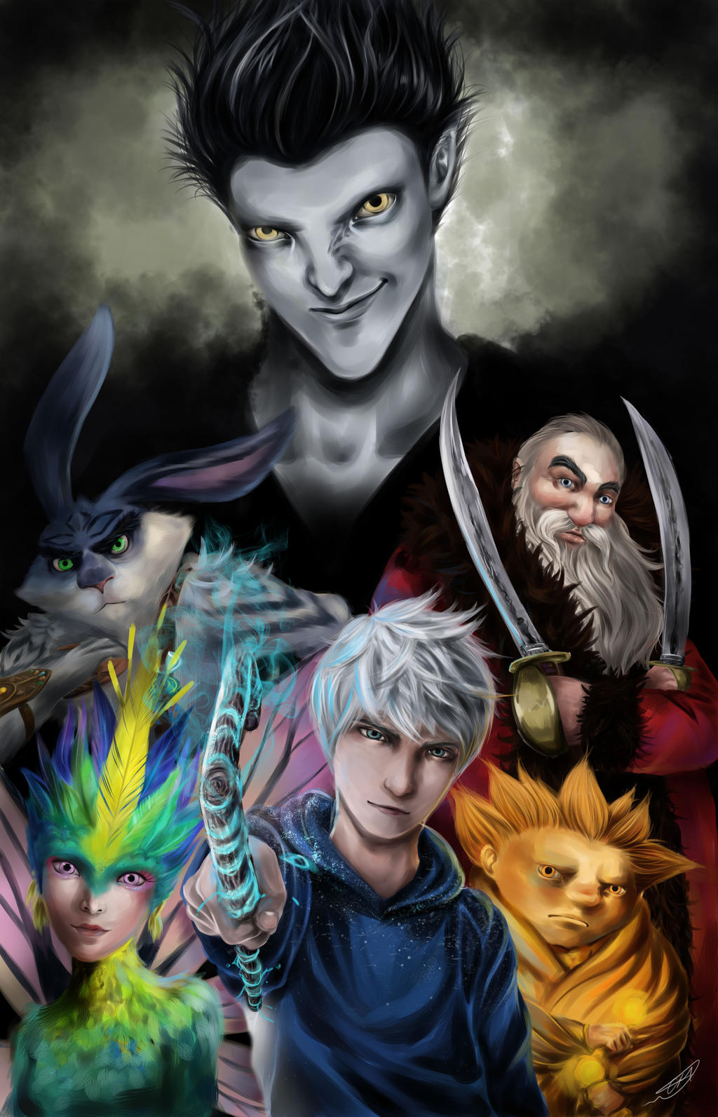 Rise of the Guardians by renjinx