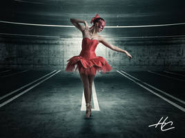 Parking Lot Ballet HC Web by higginbothamcreation