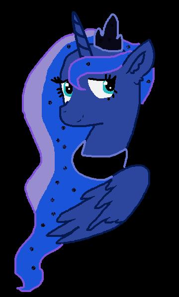 Princess Luna by rainbowpower1111