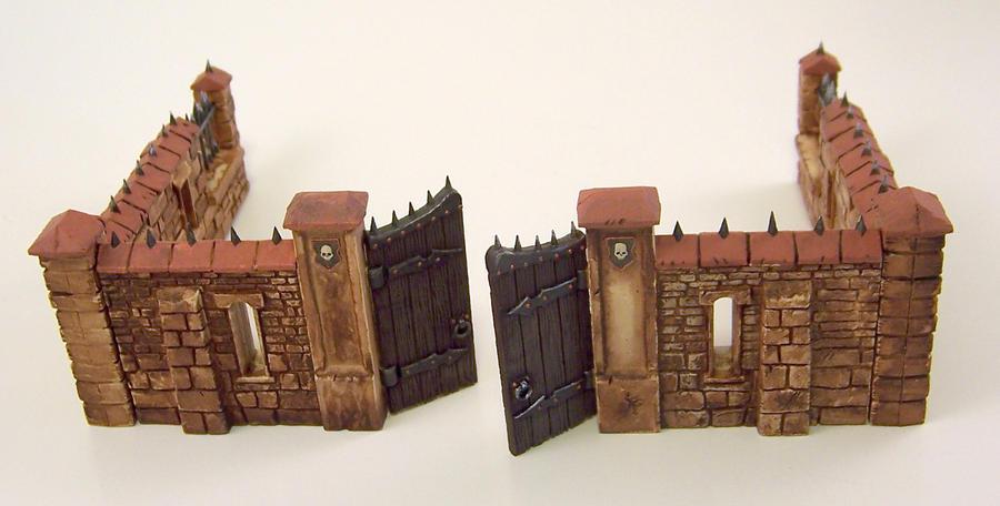Gate Wall Full X2 by WinterFlightDesign