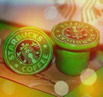 Starbucks plugs by TynahC