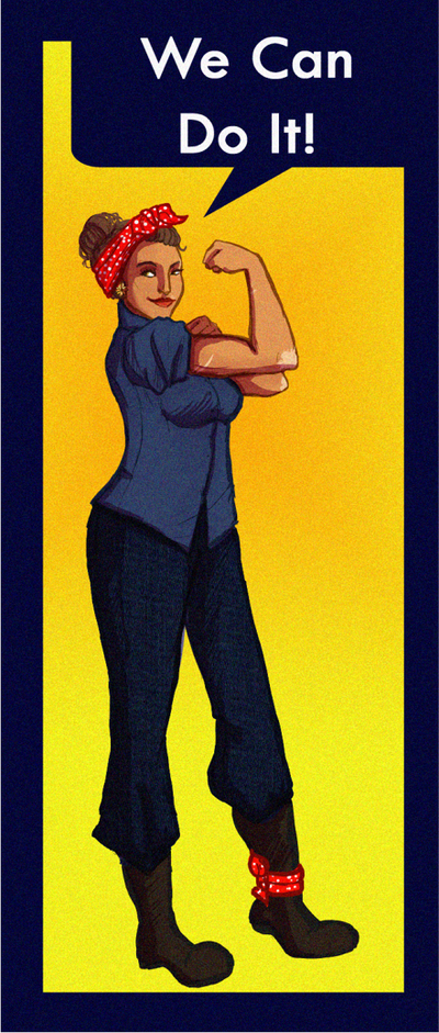 DGR Rosie The Riveter Costume By Mizz Mizzy