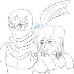 AT - Ryu Hayabusa and Xing Cai