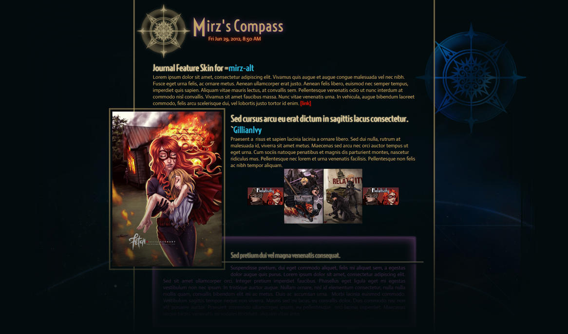 Mirz's Compass Preview by GillianIvy
