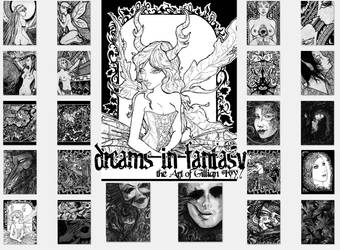 Dreams in Fantasy Collection - Nook Touch by gillianivyart