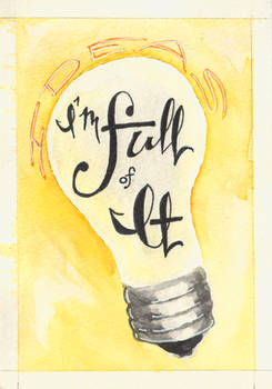 Day 3 - I'm Full of It (Ideas)