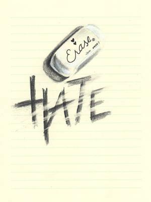 Day 13 - Erase Hate by gillianivyart