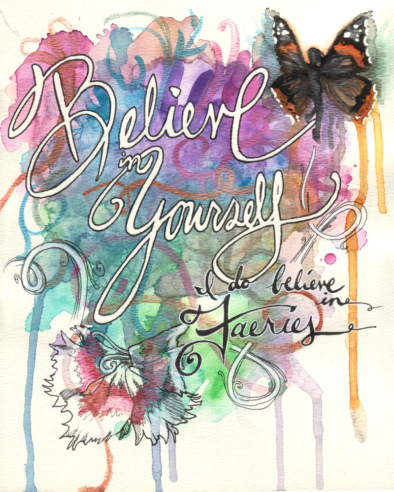 Day 22-23 - I Do Believe by GillianIvy