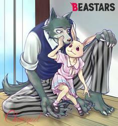 Beastars - Legoshi x Haru