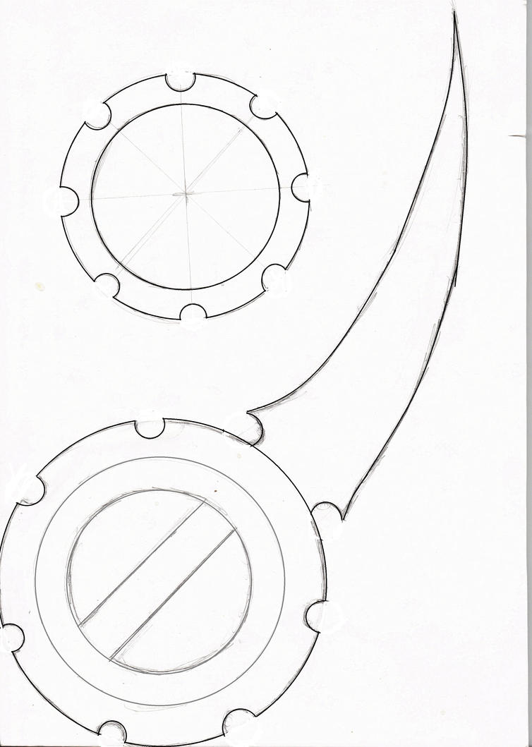Line Art Photo Cs : Rikku dagger template by brokenhearted dreamz on deviantart
