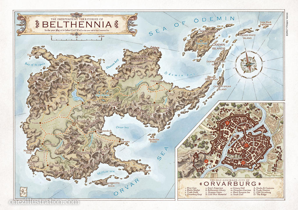 The Independent Territories of Belthennia