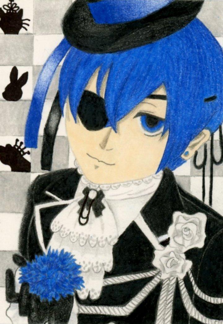 Blue Carnation by MonarchyBunny
