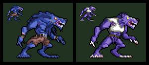 Killer Instinct 2013: Sabrewulf (Sprite)
